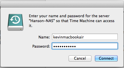 How To: Set up Time Machine for Multiple Macs on FreeNAS (9 2 1 3