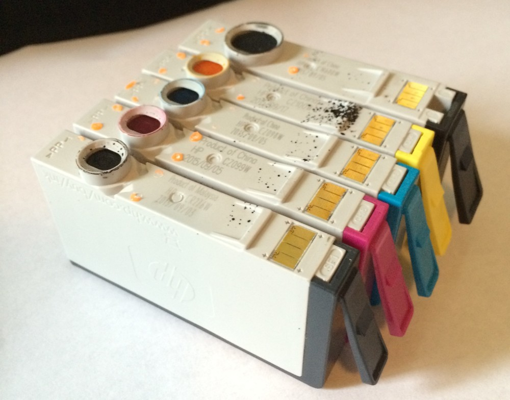 Old Ink Cartridges